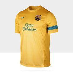 e5db290426a NIKE FC BARCELONA TRAINING TOP - University Gold Dynamic Blue The FC  Barcelona Training 3