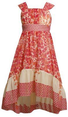 Bonnie Jean Tween Girls 7-16 Fuchsia/Multi Floral and Dot Print Chiffon Asymmetric Hi-Lo Hem Dress Bonnie Jean, http://www.amazon.com/dp/B00B6ZNCSA/ref=cm_sw_r_pi_dp_TEldrb142PMXB