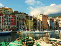 Vieux port de Bastia, par Marie Paule Maurel