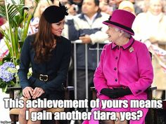The Inner Duchess of Kate Middleton, Congratulations, Queen Lizzie!