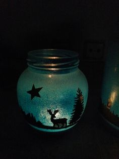 Kavanozdan mumluk #kavanoz #mumluk #mum #lantern #fener #jar