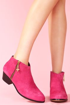 Kia Ankle Boot - Hot Pink $180.00 #socialbliss #onlinestore #fashion #style