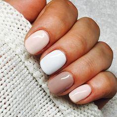 Pin by Lisa Firle on Nageldesign - Nail Art - Nagellack - Nail Polish - Nailart - Nails in 2020 Winter Nails, Summer Nails, Autumn Nails, Cute Nails, Pretty Nails, Cute Simple Nails, Perfect Nails, Simple Gel Nails, Hair And Nails