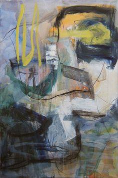 Sorgue II, 2000, 195 x 130 cm