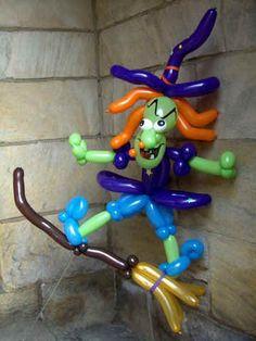 Witch Twist Balloon