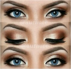 Top 10 Makeup looks for Blue Eyes. – My Make-Up Brush Set