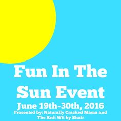 Fun in the sun event with a giveaway to win a Giant Tiger gift card
