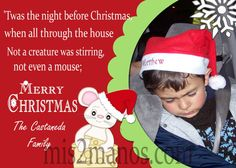 Christmas Photo Card diy Printable  by M2MPartyDesigns on Etsy, $9.00