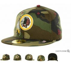 New Era NFL Camo Pop 59FIFTY Cap Redskins - Caps Redskins Hat 8b295a2d814