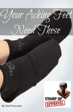 Are your feet aching, slip these clod therapy socks on and our feet will thank you | #achingfeet #productreview #momproducts #bloggerproducts