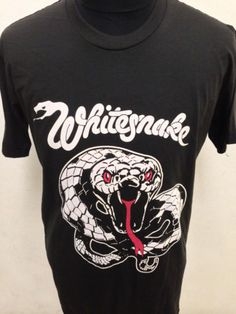 Whitesnake shirt - Small