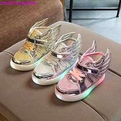 HaoChengJiaDe Autumn Kids LED luminous Sneakers Brand Child Breathable Light Flashing Baby Boys Casual Shoes For Girl Size 21~30  #upcube