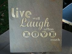 Engraved tile | Slate or Granite engraved tiles with your own signage or message ...