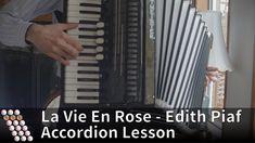 La Vie En Rose - Accordion Lesson