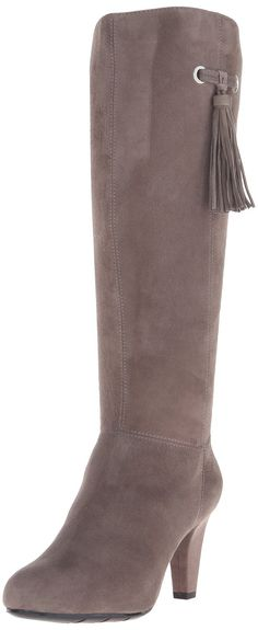 Bandolino Women's Bacia Suede Boot >>> To view further for this item, visit the image link.