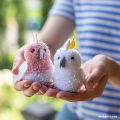 Pom Pom and Felt Cockatoo