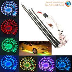 3m/5m Car Led Strips Decoration Strip 12v Flexible Neon El Wire Rope Indoor Universal Interior Led Car Light Strip For Car Auto Decorative Lamp