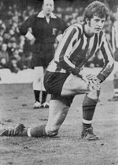 January Southampton striker Mick Channon lookin unimpressed in the match against Everton, at the Dell. Southampton Football, Retro Football, My Youth, Everton, 1970s, Saints, January, England, Club