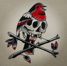 Kyler Martz Traditional Tattoo