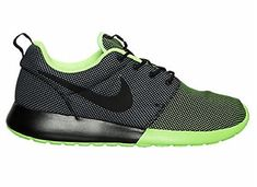 new style aceb9 b9600 Men s Roshe One Premium CB Casual Shoes Black Voltage Green Cool Grey     Read  more reviews of the product by visiting the link on the image.