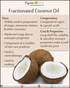 Fractionated Coconut Oil | Organic Facts
