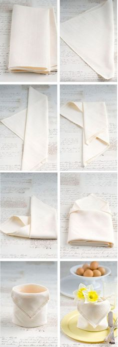 35 Beautiful Examples of Napkin Folding, . 35 Beautiful Examples of Napkin Folding, Diy Abschnitt, Paper Napkin Folding, Paper Napkins, Folding Napkins, Wedding Napkin Folding, Rustic Napkins, Contemporary Clocks, Easter Table Decorations, Decorative Towels, Deco Table