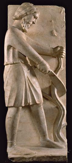 Battistero, Parma, Benedetto Antelami - Dicembre - Ciclo dei Mesi, c. 1210-1215