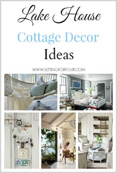 Lake house decor and accessories