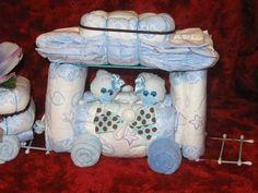 baby shower diaper trains   ... baby gifts, baby shower, center piece, babies, shower ideas, ebook