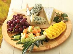 Fruit and Cheese Platter Recipe from Betty Crocker