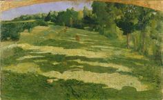 Pellizza da Volpedo, The Little Green Valley, 1891