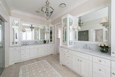 Highgate House Queensland Hamptons Style Bathroom