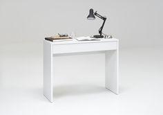 Schreibtisch Konsole Weiss Woody 70-00461 Holz modern Jetzt bestellen unter: https://moebel.ladendirekt.de/buero/tische/schreibtische/?uid=5329ebc2-66a5-5369-ba18-bfc47cb0d7bb&utm_source=pinterest&utm_medium=pin&utm_campaign=boards #buero #tische #schreibtische