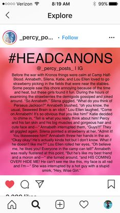 I could relate to this Percy Jackson Annabeth Chase, Percy Jackson Head Canon, Percy Jackson Ships, Percy Jackson Quotes, Percy Jackson Fan Art, Percy And Annabeth, Percy Jackson Books, Percy Jackson Fandom, Rick Riordan Books