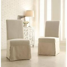 I love these parson chairs for the heads of the Thanksgiving table.