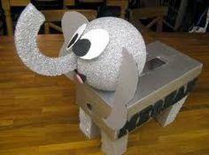 Cute Diy Elephant Valentine's Day box