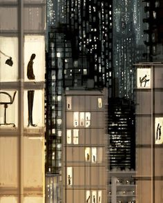 Golden cages  #pascalcampion #pascalcampionart #sketchoftheday #illustration