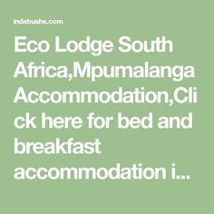 Eco Lodge South Africa,Mpumalanga Accommodation,Click here for bed and breakfast accommodation in Mpumalanga,b&b Schoemanskloof,overnight accommodation Schoemanskloof Bed And Breakfast, South Africa, Math, Math Resources, Mathematics