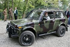 LADA NIVA and Putin