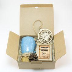 Корпоративный подарок. Новогодний чайный набор «Craft Lite». Подарочный в Вашим логотипом