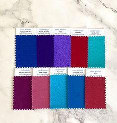 Deep Winter Palette, Cool Winter Color Palette, Winter Colors, Purple Iris, Magenta, Seasonal Color Analysis, Dark Winter, Colour Pallete, Cool Fabric