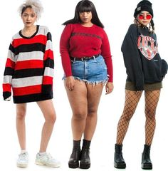 Girl Outfits, Cute Outfits, Fashion Outfits, 90s Inspired Outfits, Standing Poses, Looks Plus Size, Fashion Catalogue, 2000s Fashion, Fashion Poses