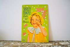 Shirley Temple Dolls and Dresses Paper by VintageShoppingSpree, $25.00