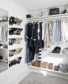 A touch of Luxe: Closet envy...