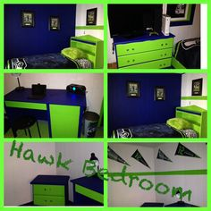 Adam's Seahawk Bedroom