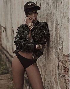 #Rihanna For #Vogue #Brazil #May #2014 By Mariano Vivanco (3) #swag