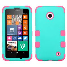 E-Time (TM) Nokia Lumia 635 630 Heavy Duty Tuff Shield Hybrid Hard Case Silicone Skin Cover (Free E-Time Brand LCD Screen Protector + Stylus Pen Included) (TEAL/PINK) E-Time http://www.amazon.com/dp/B00N5C62S4/ref=cm_sw_r_pi_dp_.PKEub0R3F0R6