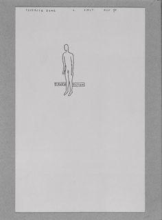Favorite Game, 1990, tinta sobre papel, 21 x 13 cm, na Estação Pinacoteca