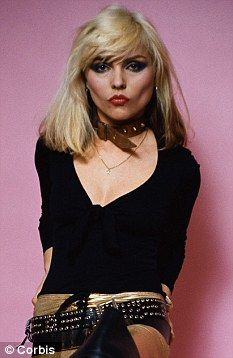 My Favorite Sunday Girl. #debbieharry #blondie #rockchickstyle