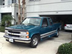 My new 1996 Chevrolet Silverado :)